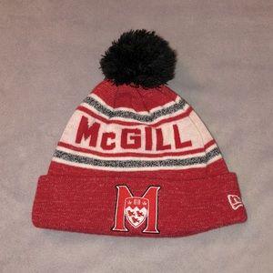 McGill university beanie